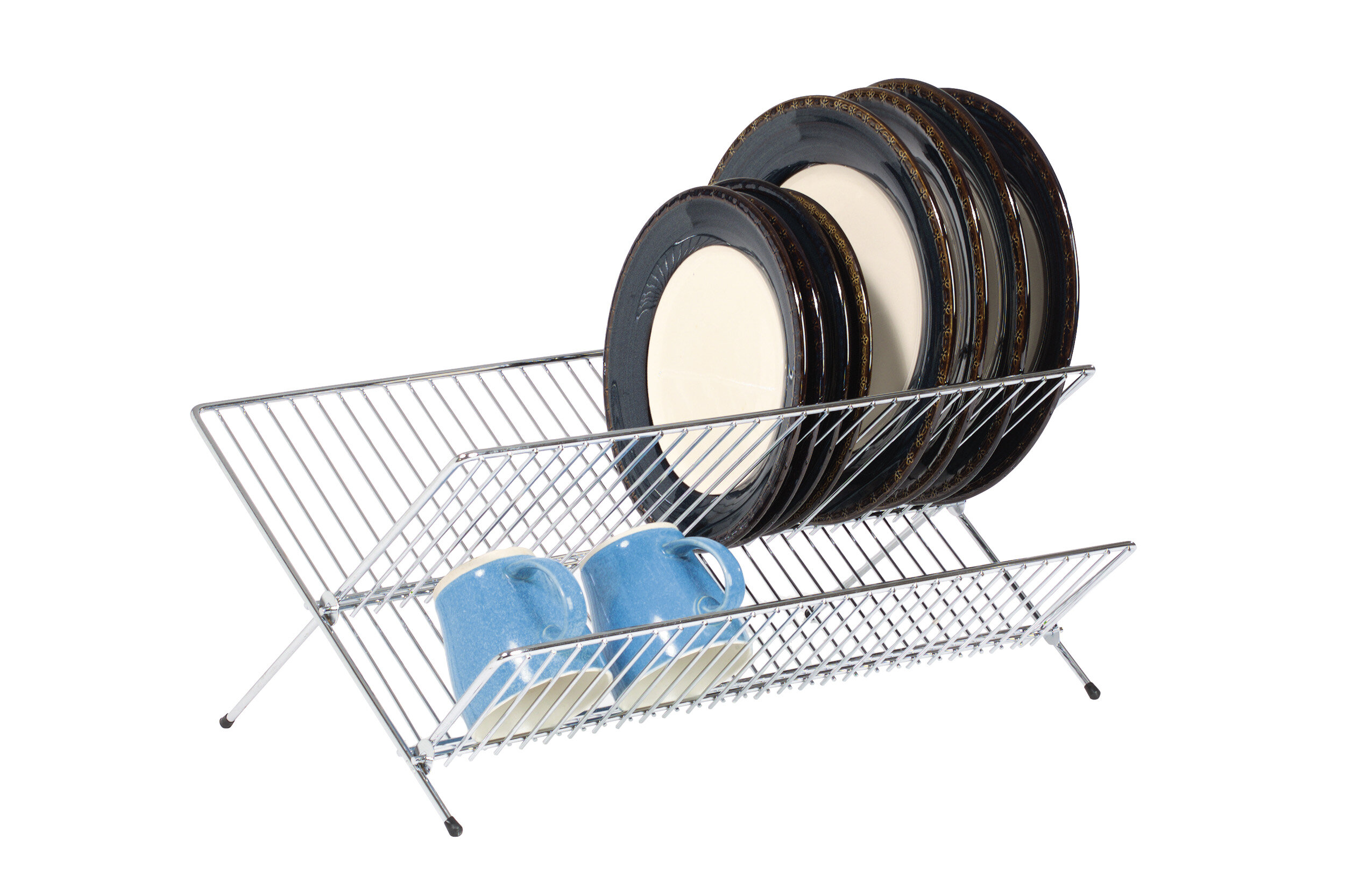 NEW KitchenCraft Chrome Plated Utensil Hanging Rack FREE SHIPPING