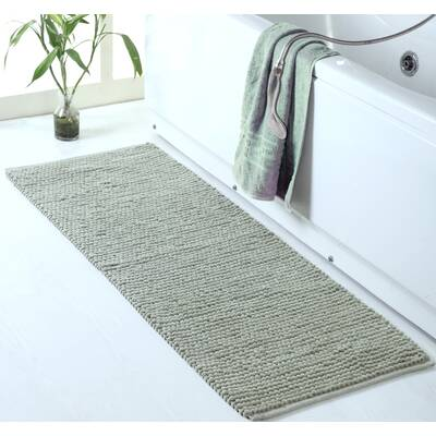5816bfd5dbf6 Gracie Oaks Ollert Chenille-Loop Oversized Bath Rug   Reviews