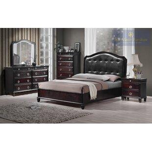 Tiffany Queen Platform 5 Piece Bedroom Set