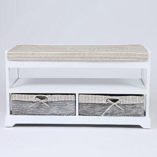 Highland Dunes Celine Upholstered Storage Bench