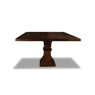 Pascarella Solid Wood Dining Table Gracie Oaks