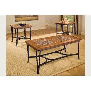 Fleur De Lis Living Southampton 3 Piece Coffee Table Set