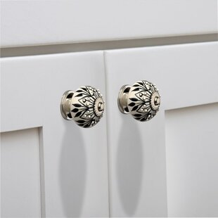 Crystalled Cabinet Round Knob (Set of 8)