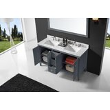 Sison 60 Double Bathroom Vanity Set with Mirror by Charlton Home®