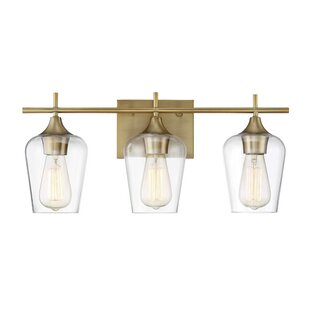 Staci 3-Light Vanity Light By Zipcode Design