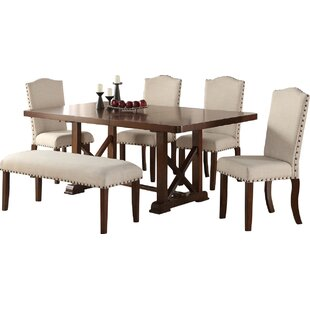 Canora Grey Chevaliers 6 Piece Dining Set