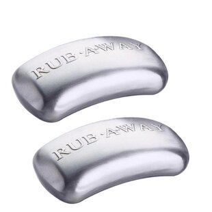 Rub-a-Way Bar Stainless Steel Odor Absorber Skimmer (Set of 2)