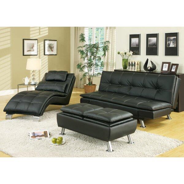 Latitude Run Baize Sleeper Configurable Living Room Set Reviews