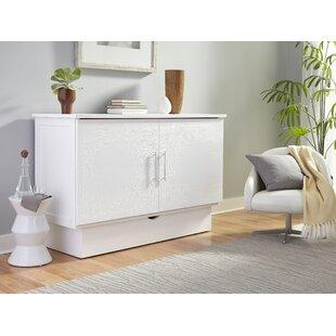 Horizon Magnolia Queen Storage Murphy Bed with Mattress by Latitude Run