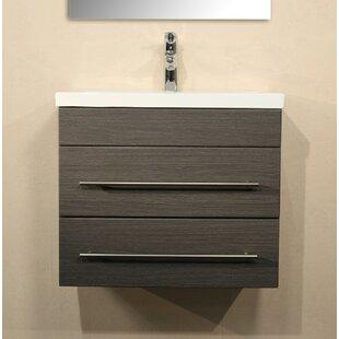Mars 60cm Wall Hung Single Vanity Unit By Belfry Bathroom