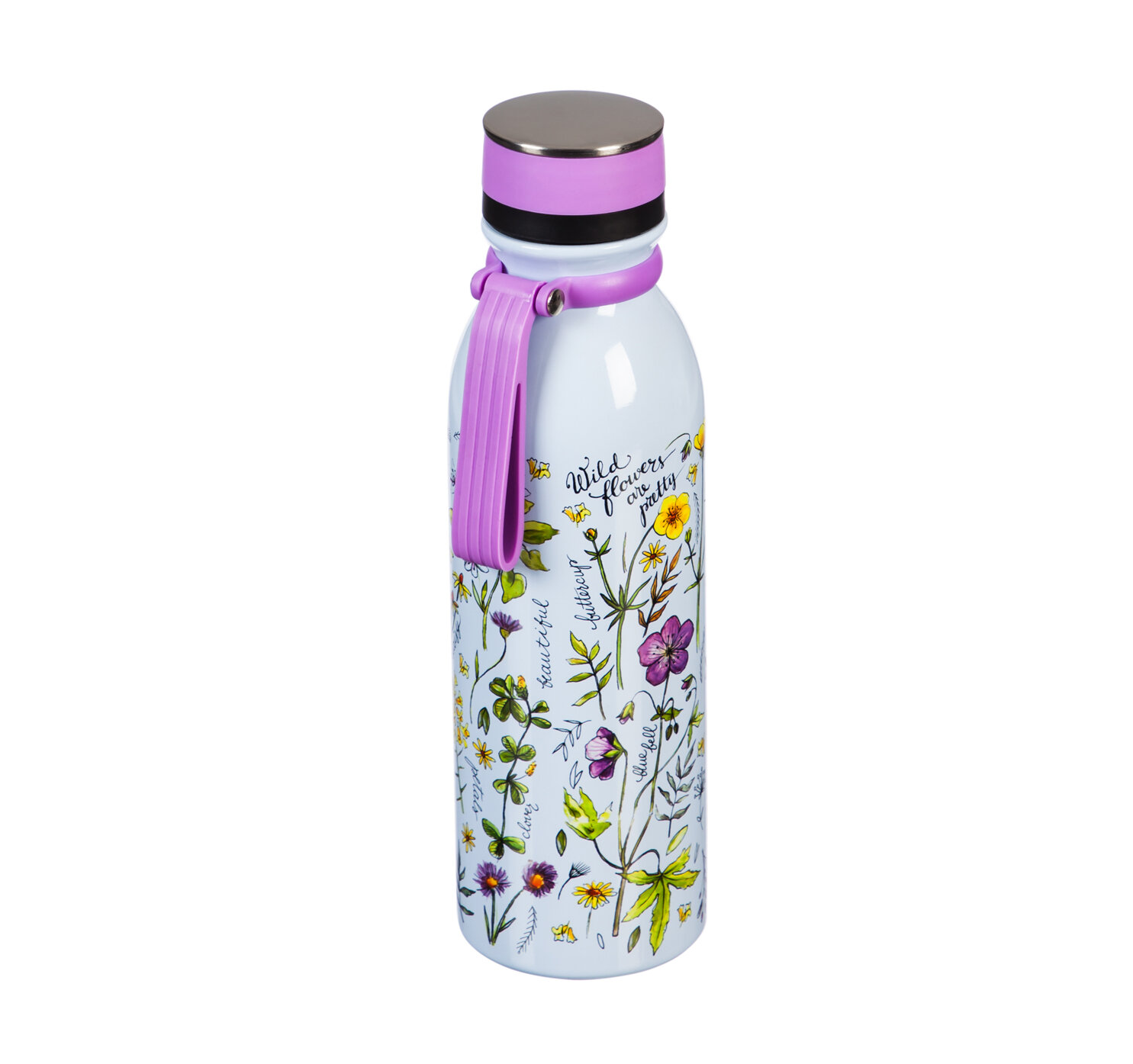 Cypress Wild Flowers Are Pretty 20 Oz Water Bottle Wayfair