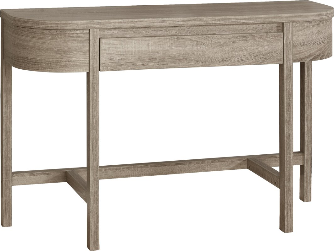 Modern monarch specialties inc console sofa tables allmodern manda console table geotapseo Image collections