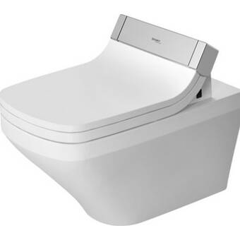 Duravit Durastyle Wall Mounted Washdown Model Rimless Dual Flush Elongated Toilet Bowl Seat Not Included Perigold