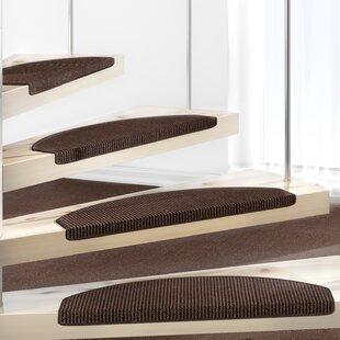 Dark Brown Stair Tread by Symple Stuff