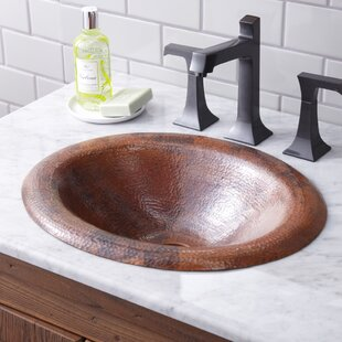 Native Trails, Inc. Maestro Metal Oval Drop-In Bathroom Sink