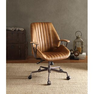 Greyleigh Kirbyville Mid-Back Leather Executive Chair