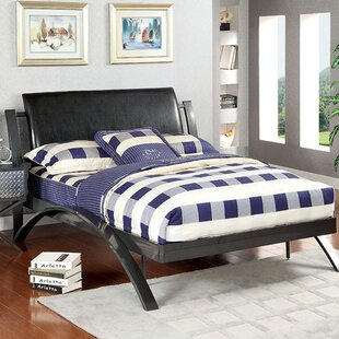 Regan Upholstered Panel Bed by Latitude Run