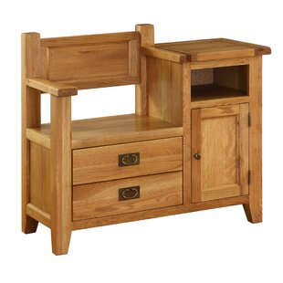 Millais Wood Storage Bench by Alpen Home