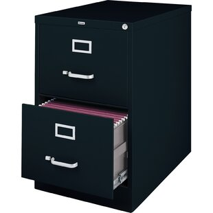 Holbrook 2-Drawer Commercial Legal Size File Cabinet by Latitude Run