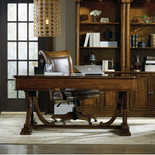 Tynecastle Solid Wood Writing Desk and Chair Set