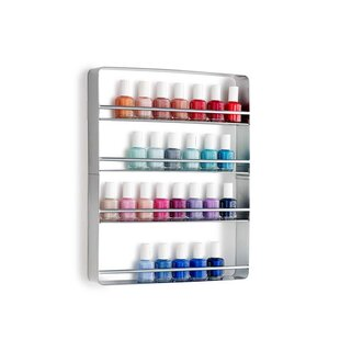 Design Ideas Cooper Nail Polish Wall Shelf