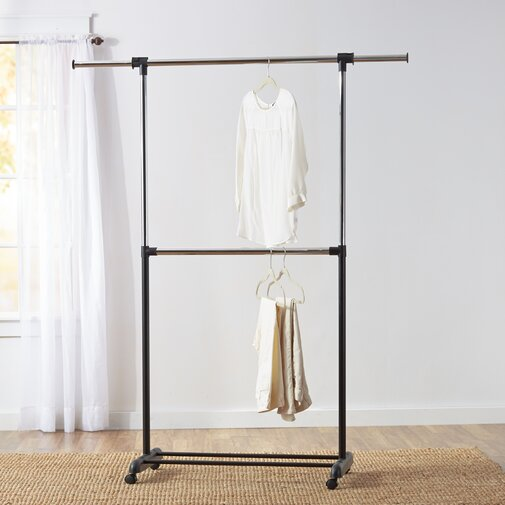Wayfair Basics 73 in. W Garment Rack