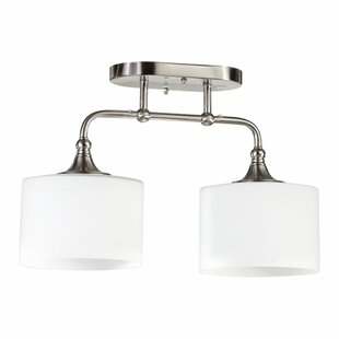 Heyworth 2-Light Semi Flush Mo..