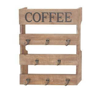 Wall Mounted Mug Rack