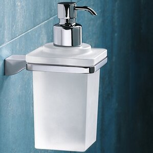 glamour wall mount soap dispenser - Wall Mounted Soap Dispenser