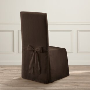 Parson Polyester Chair Slipcover