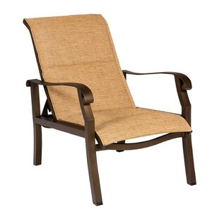 Woodard Cortland Sling Adjustable Patio Chair