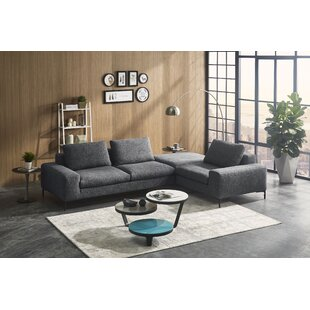 Creekmore Modern Modular Sectional with Ottoman
