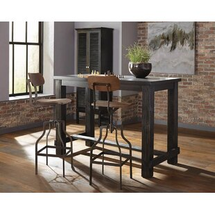 Andrea 3 Piece Pub Table Set by 17 Stories