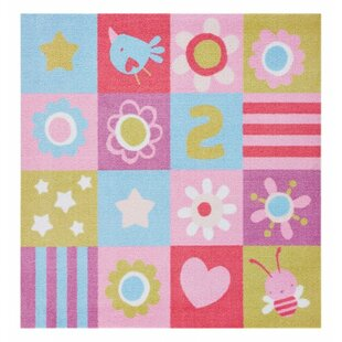Kiddy Pink/Purple Rug by Zala Living