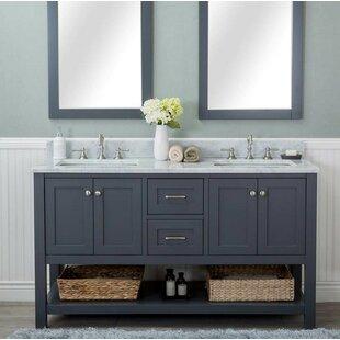 Read Reviews Furlow 60 Double Bathroom Vanity Set ByRed Barrel Studio