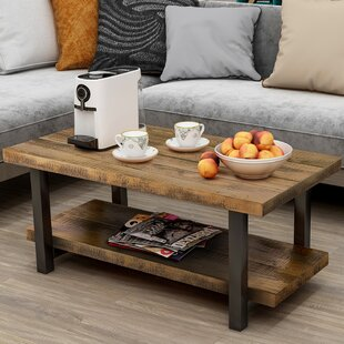Aerial Coffee Table with Storage by Gracie Oaks