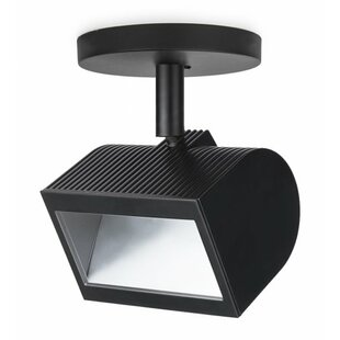 WAC Lighting Wall Wash 1-Light LED Semi Flush Mount