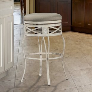 Pharris 26 Swivel Indoor/Outdoor Patio Bar Stool One Allium Way