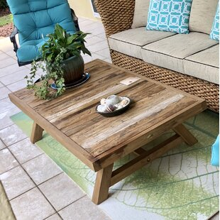Recycled Teak Coffee Table by Chic Teak Great Reviews