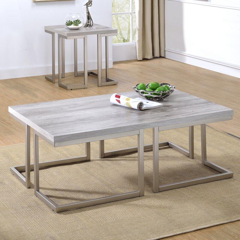 Steve Silver Furniture David 2 Piece Coffee Table Set Reviews Wayfair