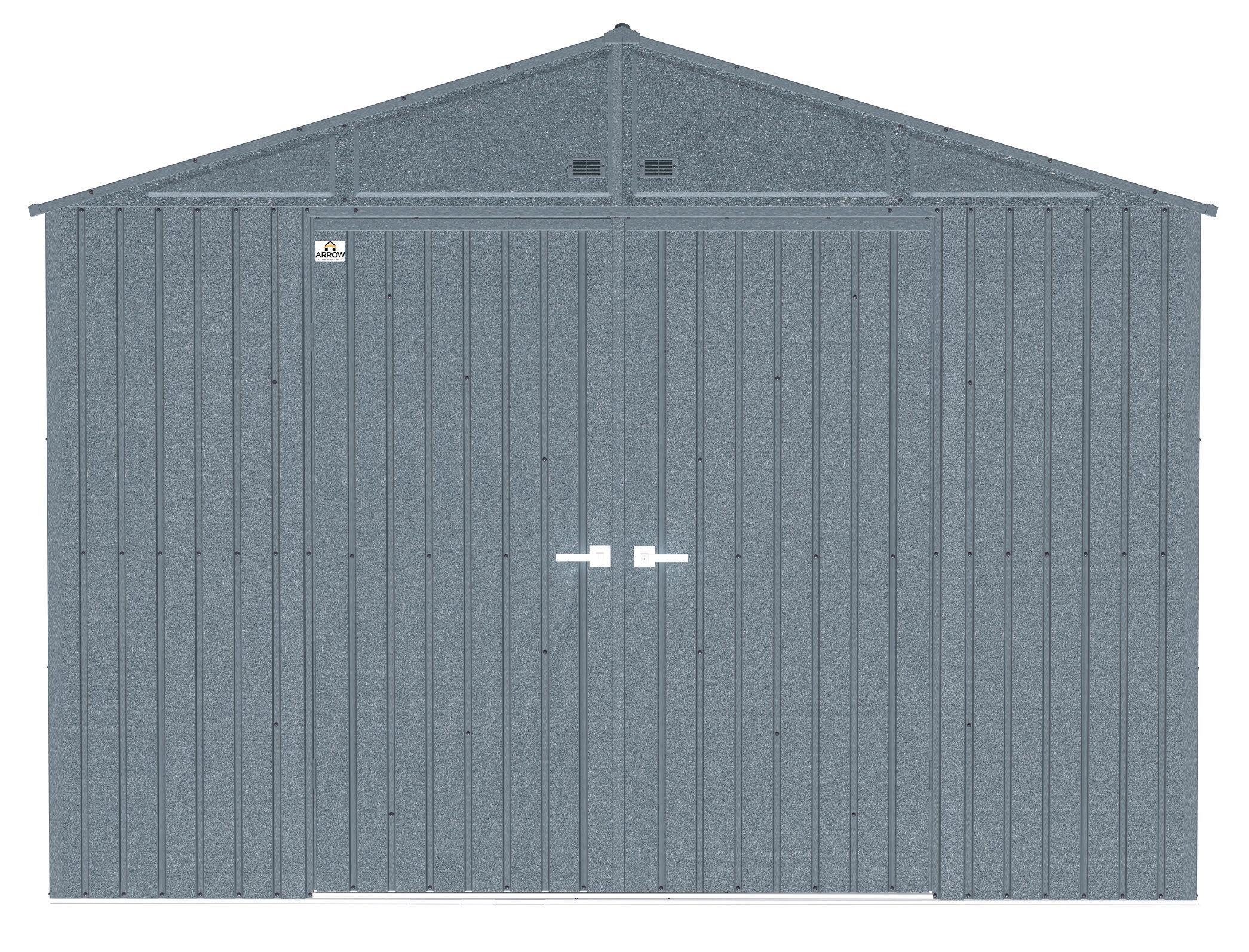 Arrow Elite 10 Ft W X 8 Ft D Metal Vertical Storage Shed Wayfair
