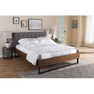 Swanscombe Upholstered Platform Bed by Williston Forge