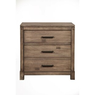 Arrighetto 3 Drawer Nightstand by Gracie Oaks Modern