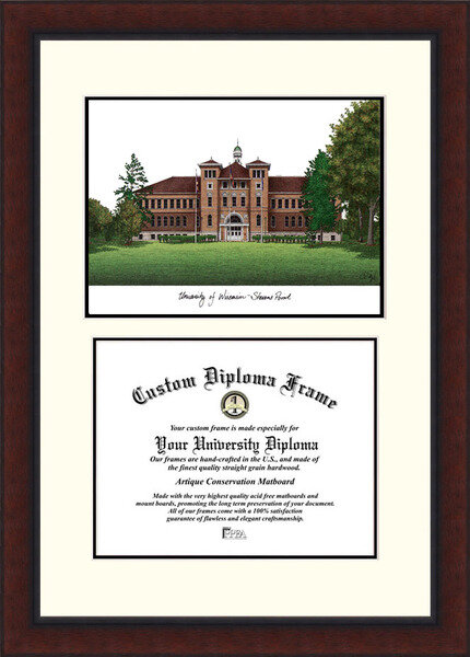 Campus Images Ncaa Wisconsin Stevens Point Pointers Legacy Scholar Diploma Frame Wayfair