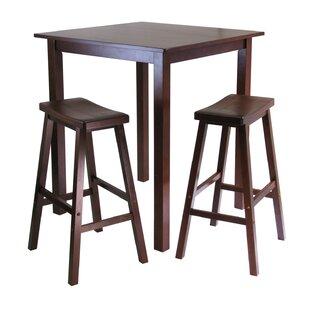 Auburn Road 3 Piece Pub Table Set