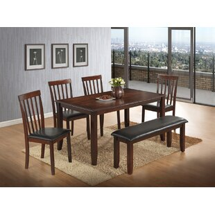 Thorson 6 Piece Dining Set by Red Barrel ..