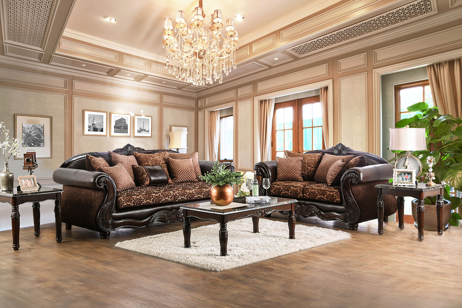 Astoria grand selimi 2 piece living room set wayfair