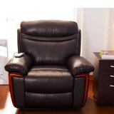Slope Manual Lift Assist Recliner with Massage and Heating by Red Barrel Studio®