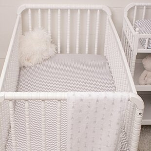 Jersey Knit Cotton Fitted Crib Sheets (Set of 2) ByZiggy Baby