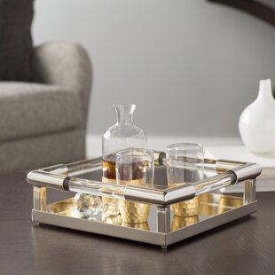 Super Mercury Glass Tray | Wayfair JX66